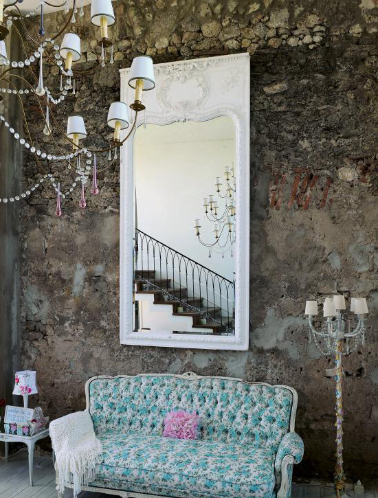 Little Bits of Lovely: House Tour {Shabby Chic Meets Vintage Glamour}