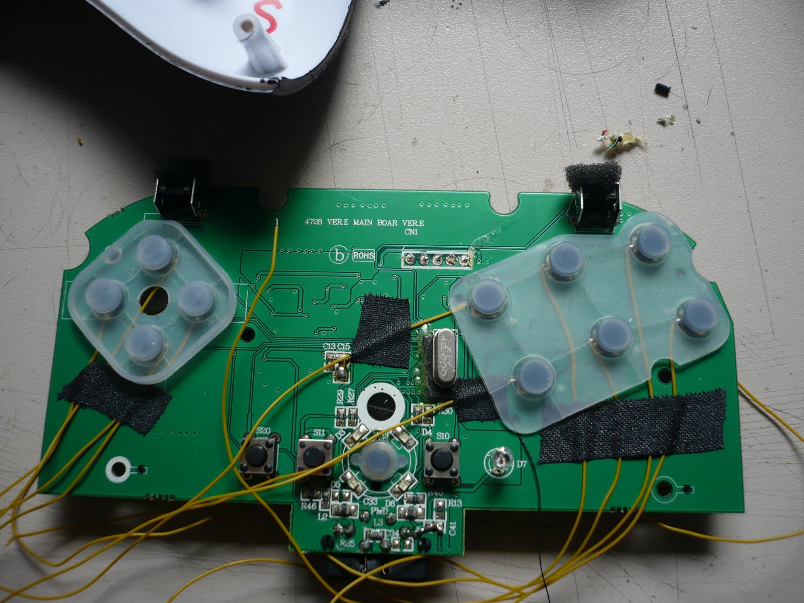 Arcade and Video Game Modding: Smallest PS3 Controller PCB on world ...