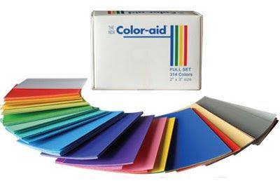 color aid paper