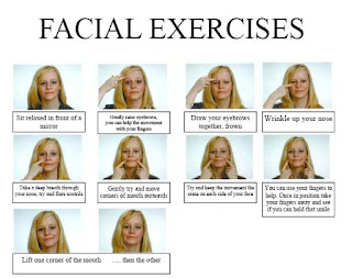 Face Exercises for Bell's Palsy http://koushikphysio.blogspot.com/2008/12/definition-bells-palsy-is-sudden.html