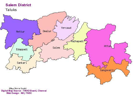 Taluks Of Salem District