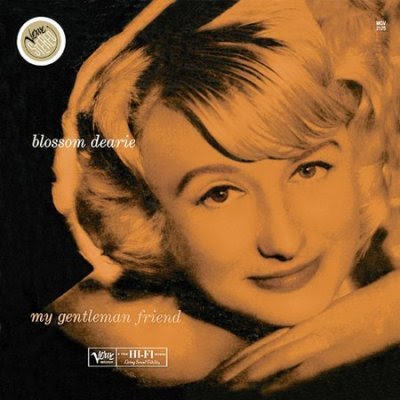 Cover Album of BLOSSOM DEARIE - MY GENTLEMAN FRIEND (1959)