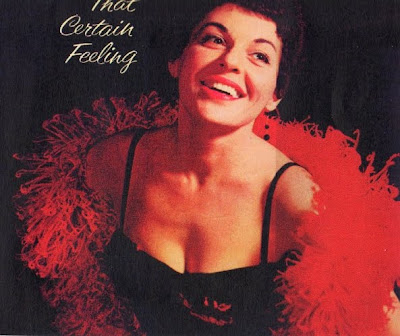 Cover Album of FELICIA SANDERS - THAT CERTAIN FEELING (1960)