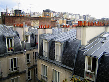 View from the apartment, Rue du Square Carpeaux