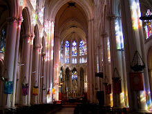 La Chapelle Montligeon, interior light
