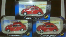 CARARAMA VW BETTLE POLICE(1:43)