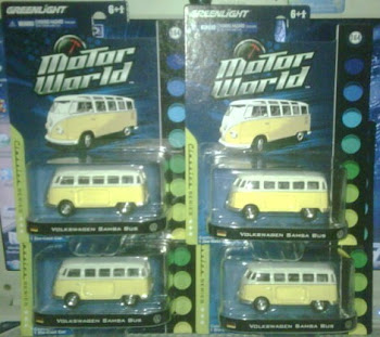 GREENLIGHT VW SAMBA kuning(1:64)
