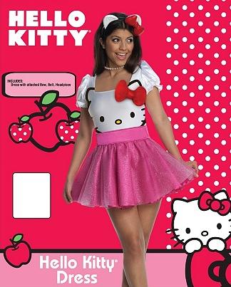 Hello Kitty Dress Costume Set - Hot Topic, $59.99