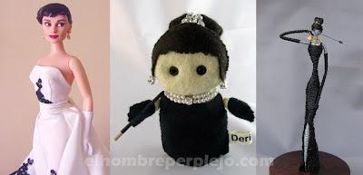 Diversas muñecas