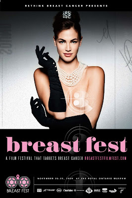 Cartel del 'Breast Fest'