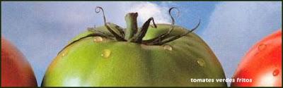 Detalle del cartel de 'Tomates verdes fritos'