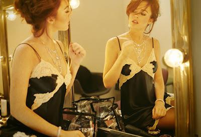 Lindsay Lohan en la galería 'Actrices frente al espejo' de elhombreperplejo.com