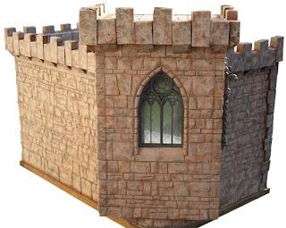 how to build a mini castle