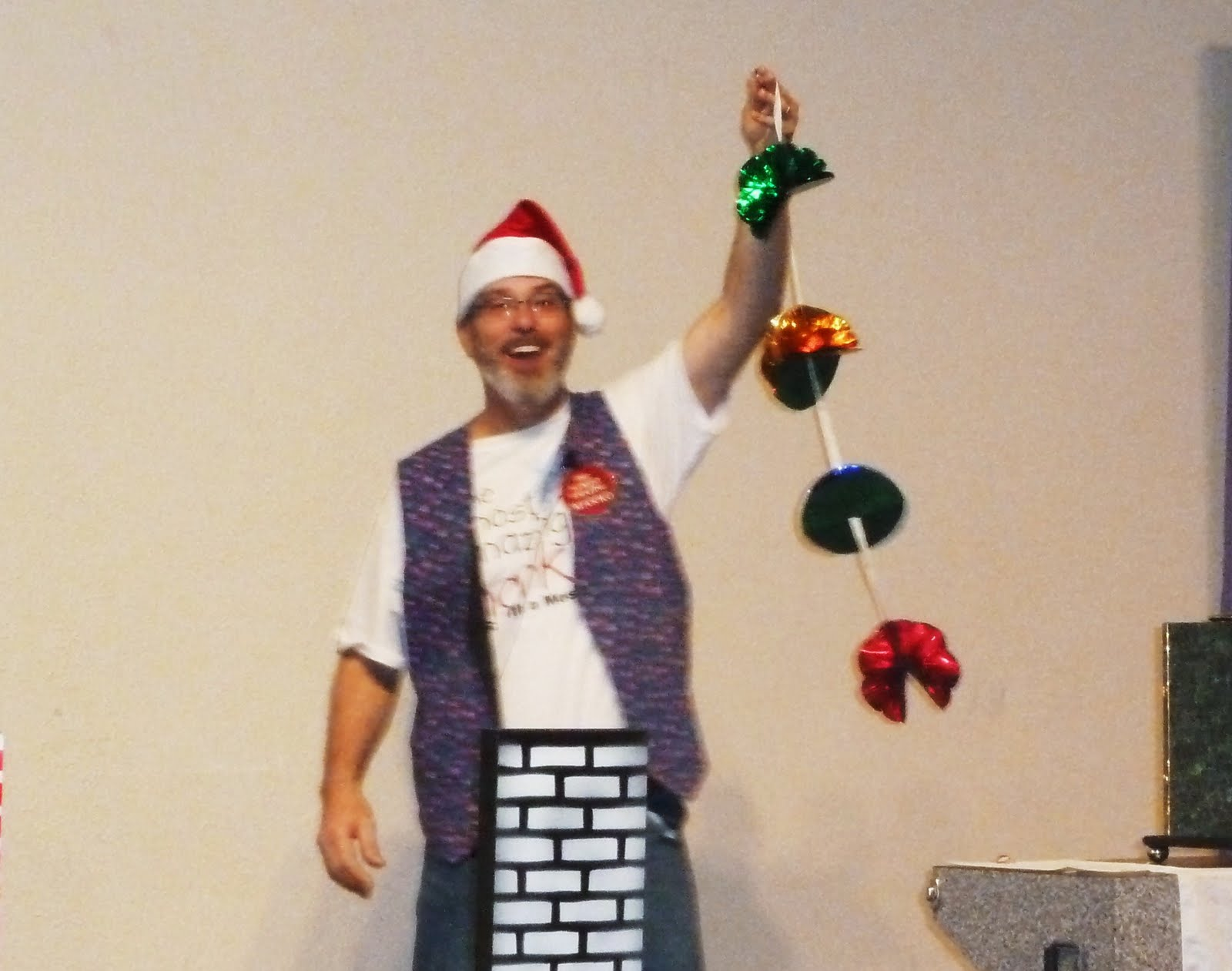 After my holiday show at New World United Methodist Church in Arlington, ...