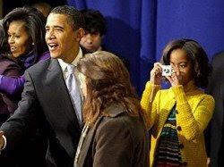 foto de malia obama filha de barack obama