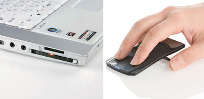 Thinnest optical mouse ever made for laptop