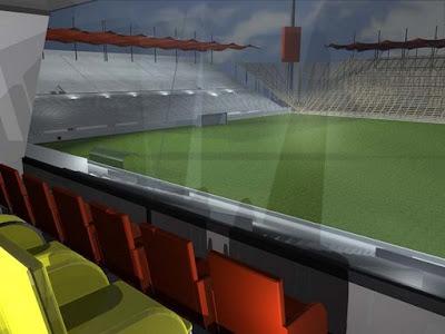 fotos de casetas estadio de union española