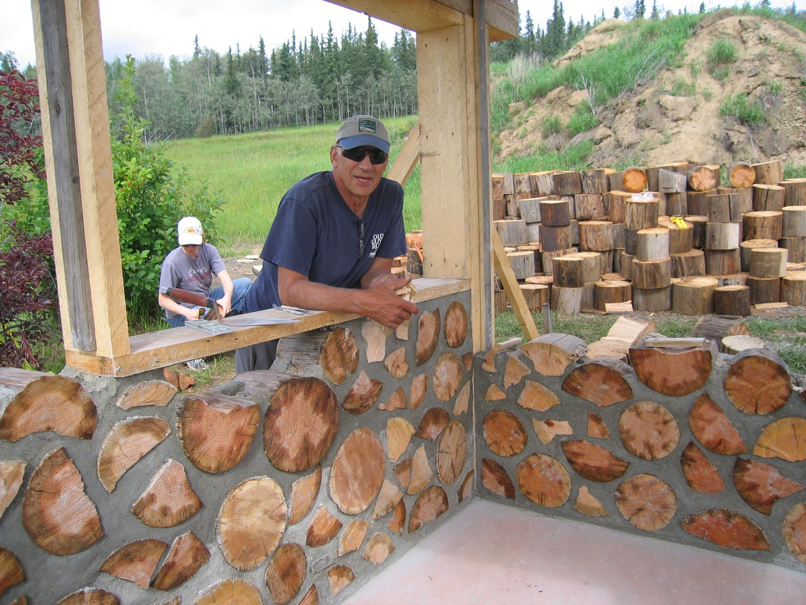 Oko bi cord wood shed for Cordwood shed