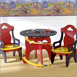 racecartable - babies chair sets