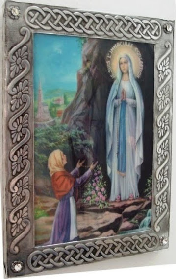 Virgen de Lourdes