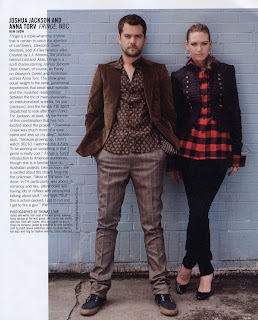 Fringe's Joshua Jackson and Anna Torv in Nylon magazine article