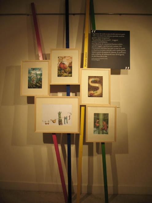le mie illustrazioni in mostra