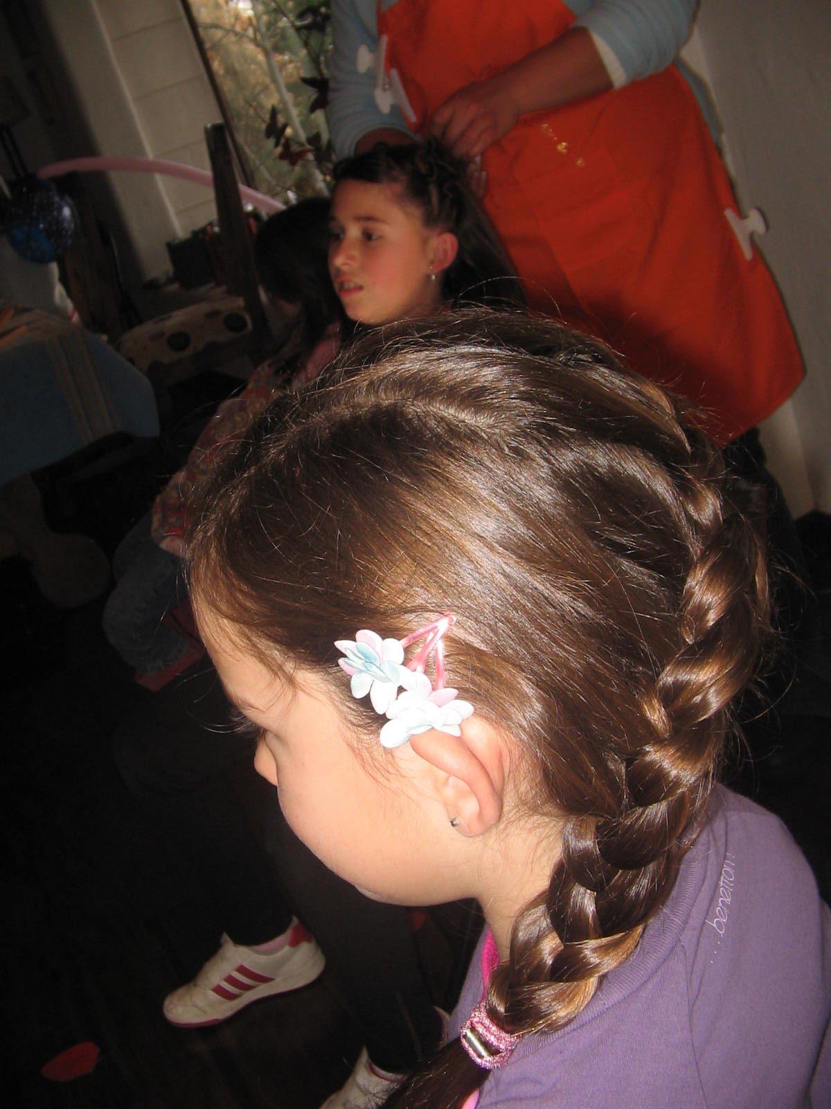 peinados para fiestas de niñas