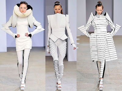 Shoulder Pads Fashion Week on Fashion Me Fabulous  Paris Fashion Week Favorites So Far