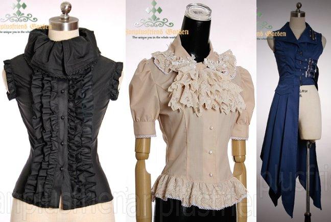 Milieux  Gothic  Alternative Fashion  Clothing