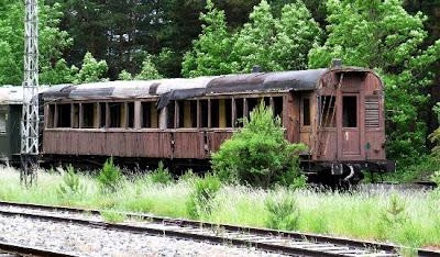 Nedgånget Tåg