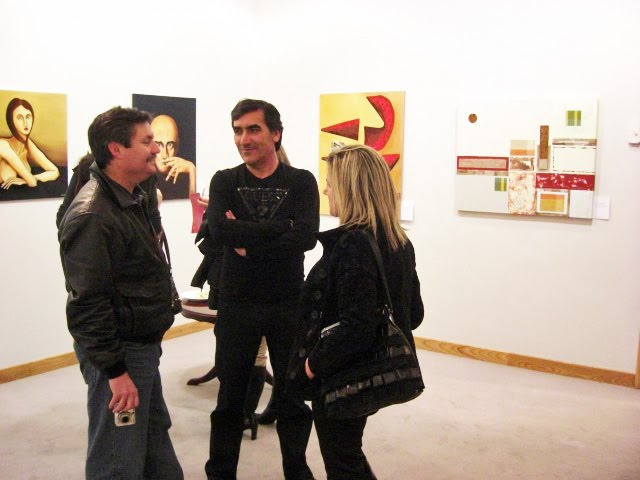 Urbano with Cosme and his wife