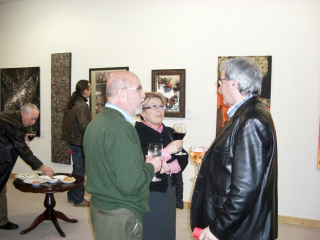 D. Francisco Pablos with guests