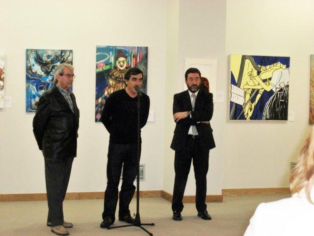 The speech of thanks by Francisco Urbano