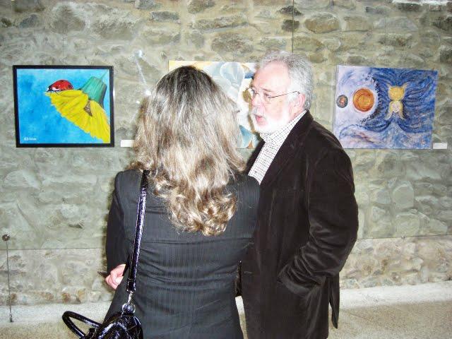 The works of António Dulcídio and Mirella Orlandini