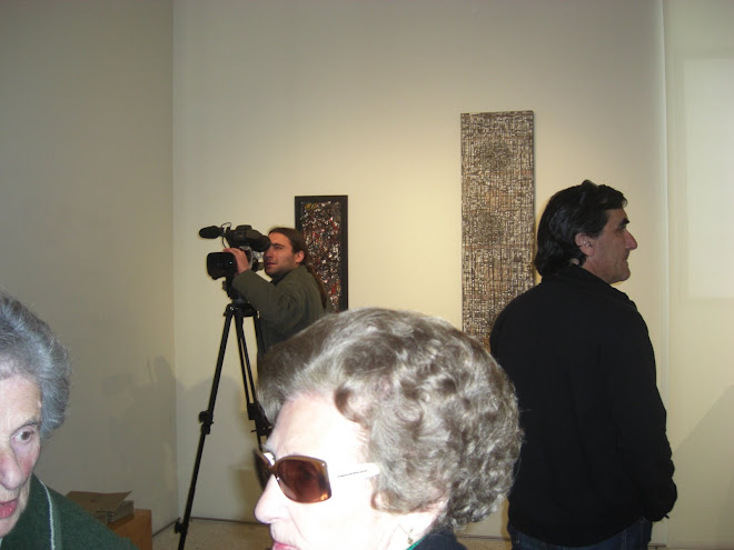 The opening with the works of José Cunha and Paulo Themudo