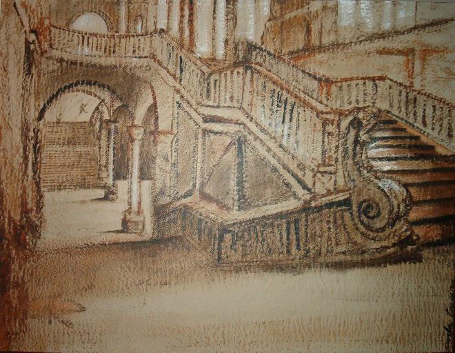 Escadaria by Carla Taveira