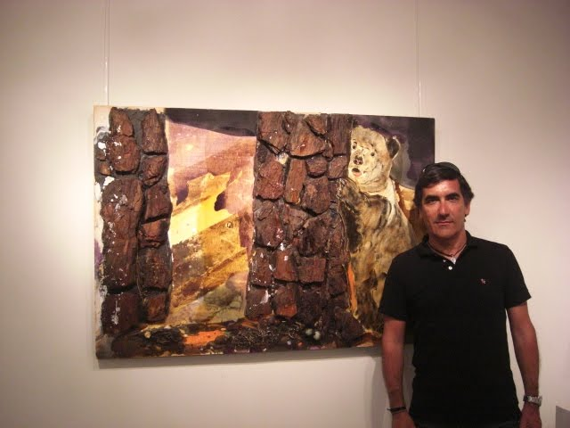 Francisco Urbano with work