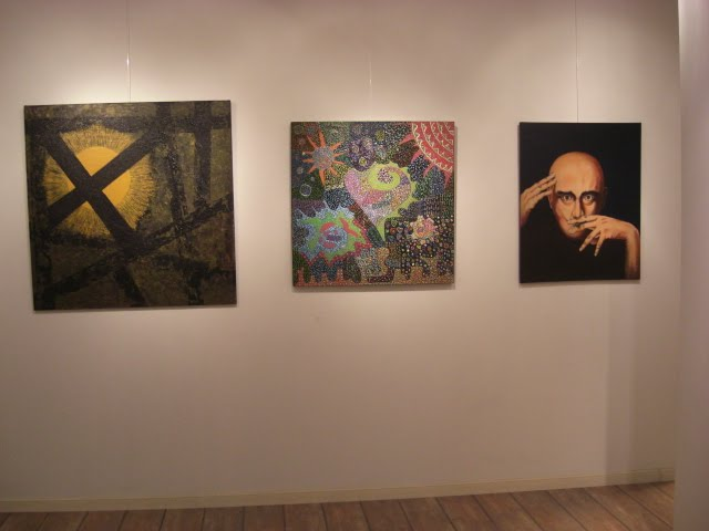 The works of Graciela Otero, Patty Silva and Nicolau Campos