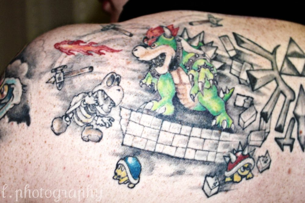 ZELDA TATTOO. Those who grew up on Nintendo can appreciate this.
