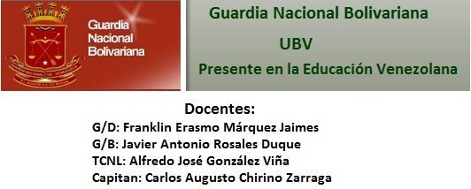 Guardia Nacional Bolivariana - UBV-