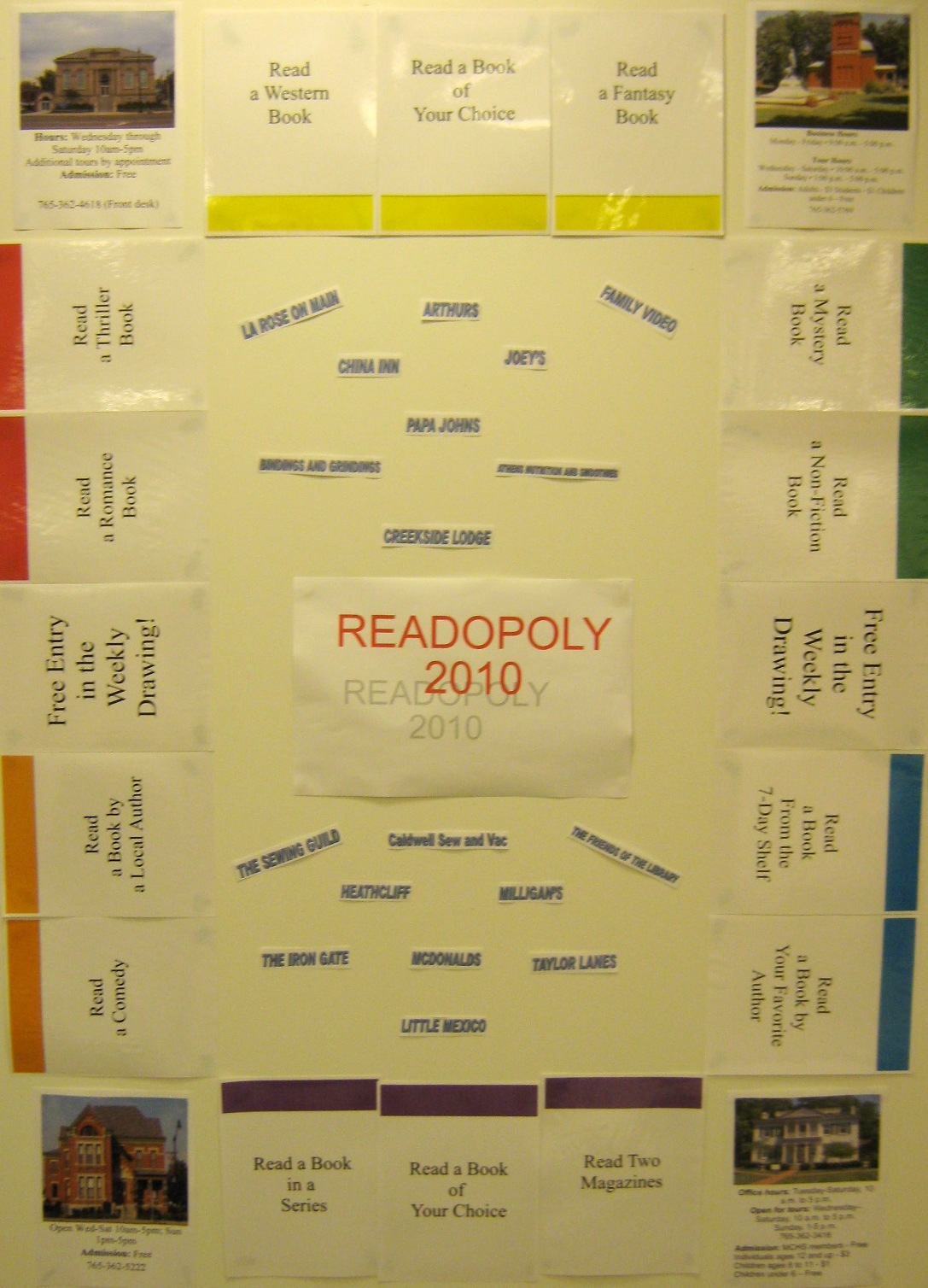 Readopoly: The 2010 Adult