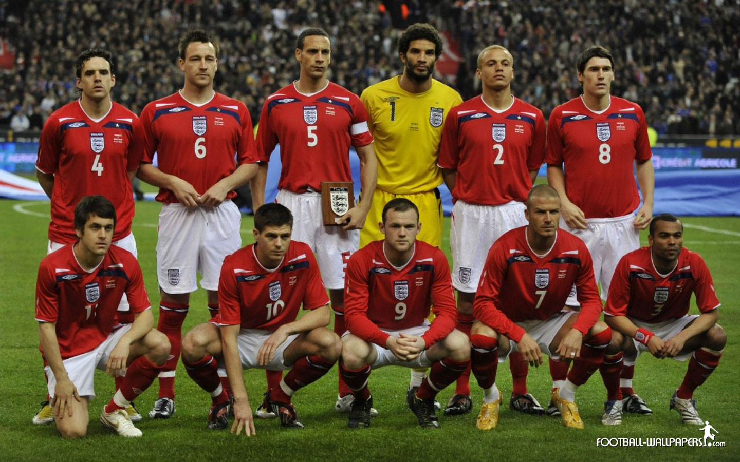 english national team football