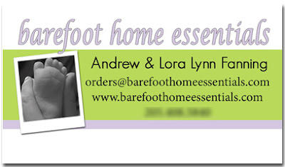 barefoot home essentials card preview
