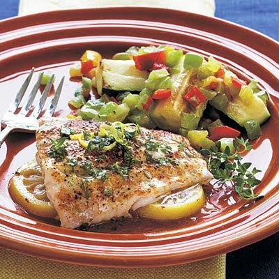 Global CookBook: Yummy red snapper fillet baked the oven (healthy ...