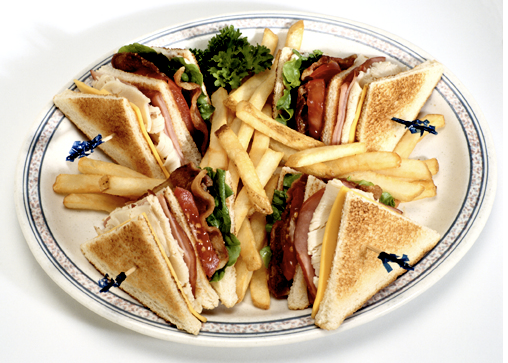 Global CookBook: Classic Club Sandwich (American Recipe)