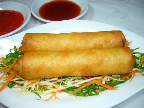 Global CookBook: Spring Rolls (Chinese Recipe)