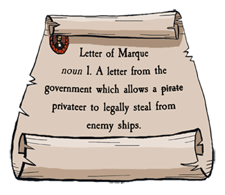 What is a Letter of Marque, anyway?
