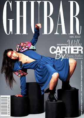 >Willy Cartier en couv' de Ghubar Magazine