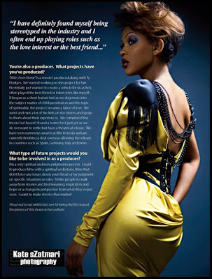 Meagan Good : It's all Good pour Krave Magazine
