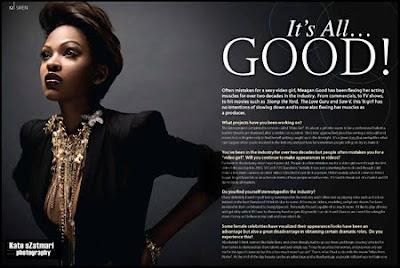 meag-2 Meagan Good : It's all Good pour Krave Magazine